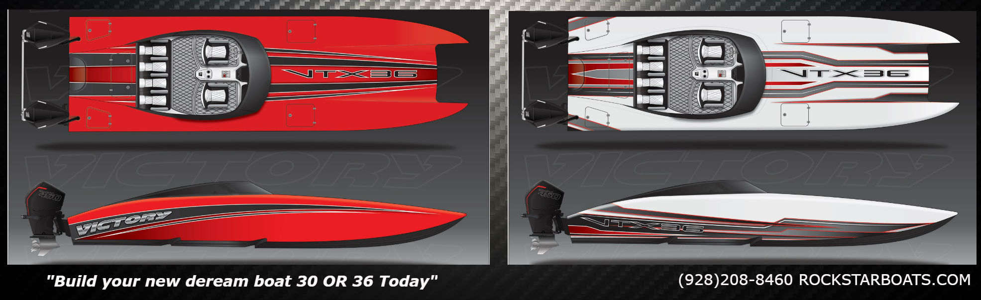 Victory powerboats rockstarboats