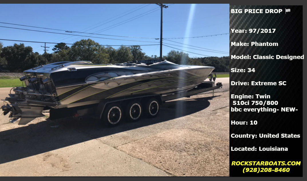FOR-SALE POWERBOATS